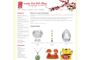 Lucky Cat Gift Shop - Beautiful Gifts, Oriental Twist